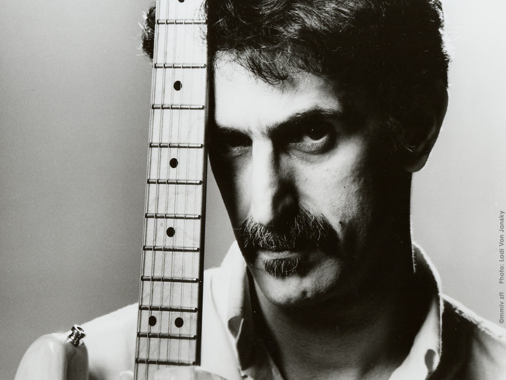 Frank Zappa Crush All Boxes